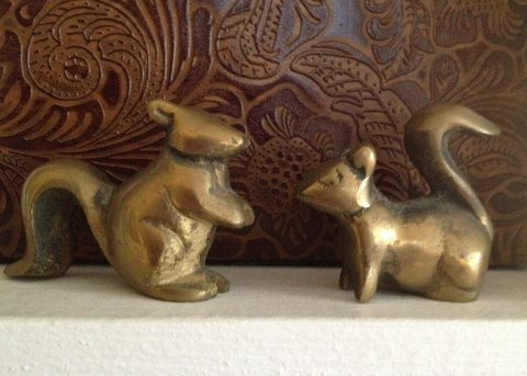 squirrels sister brass