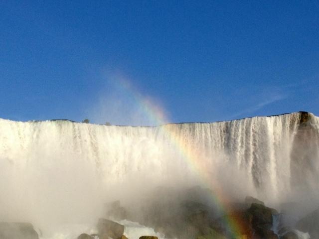 niagra falls rainbow