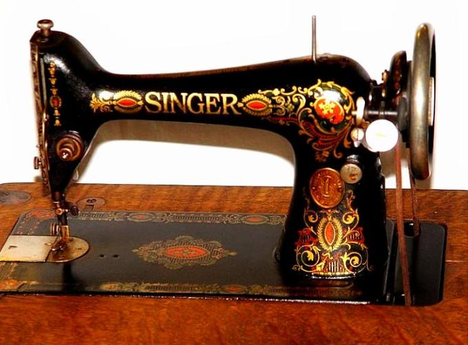 singer treadle