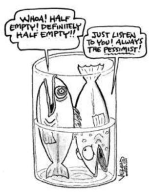 glass half empty fish
