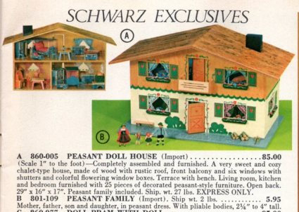 FAO catalog doll house