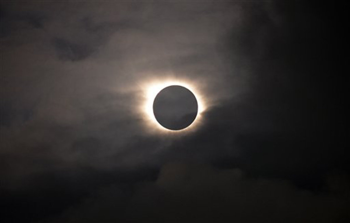 Faeroes Europe Solar Eclipse